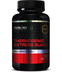 Thermogenic Extreme Black (120 caps) - Probiótica