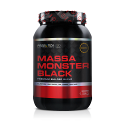 MASSA MONSTER BLACK 1,5Kg - PROBIÓTICA