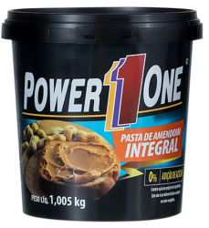 PASTA DE AMENDOIM INTEGRAL - POWER ONE (1,005 KG)