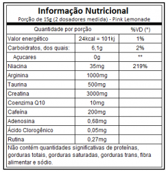 X PRE WORKOUT (450G) ATLHETICA
