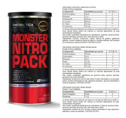 MONSTER NITRO (44 PACKS) PROBIOTICA