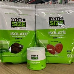 Kit Isolate Blend 907g + Creatina 120g - Synthesize